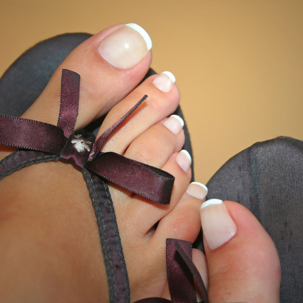 frenchpedicure